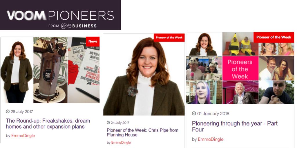 Virgin Business VOOM Pioneer
