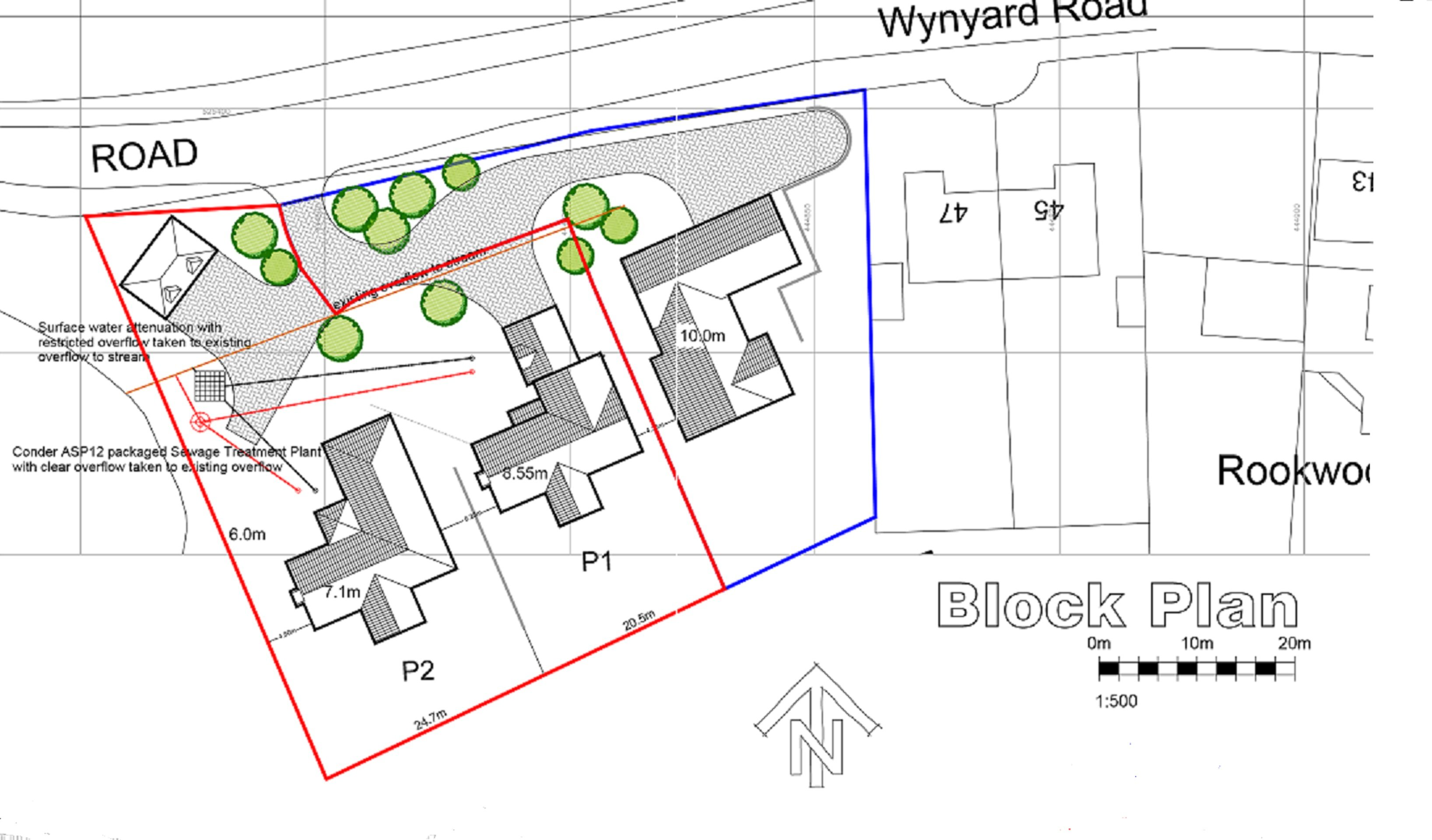 Wolviston site plan