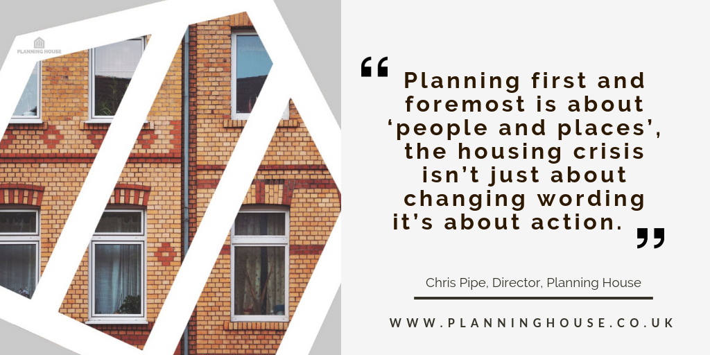 Planing for people and places
