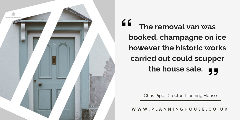 Options for selling a house without planning permission
