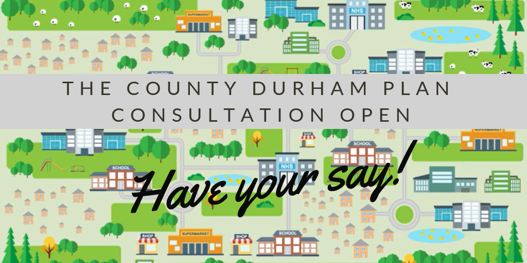 County Durham Plan Consultation Open