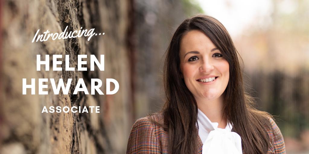 Introducing Helen Heward