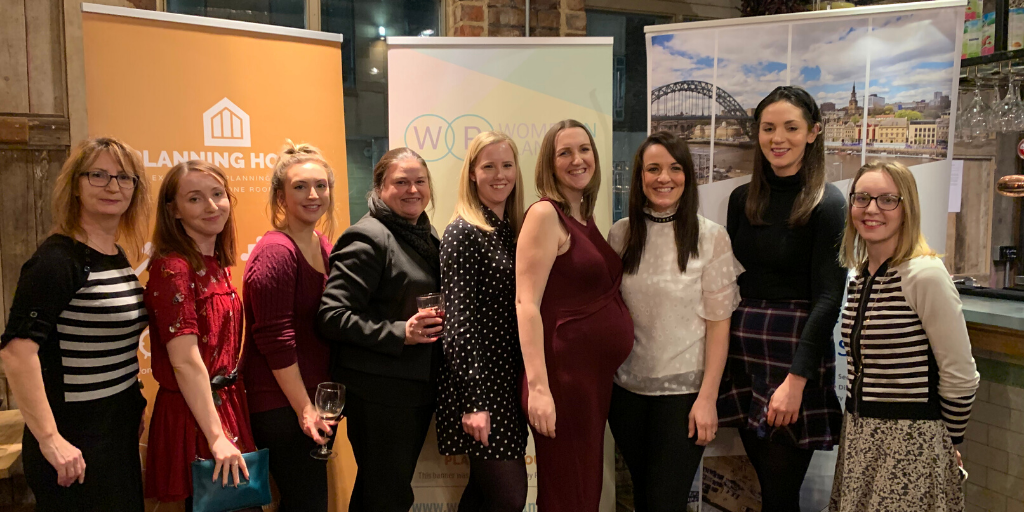 Proud to sponsor Women in Planning North East's 1st Birthday celebrations
