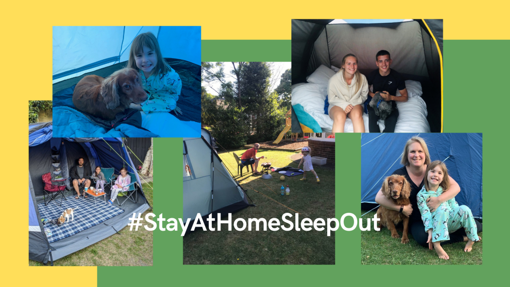 National Stay At Home Sleep Out
