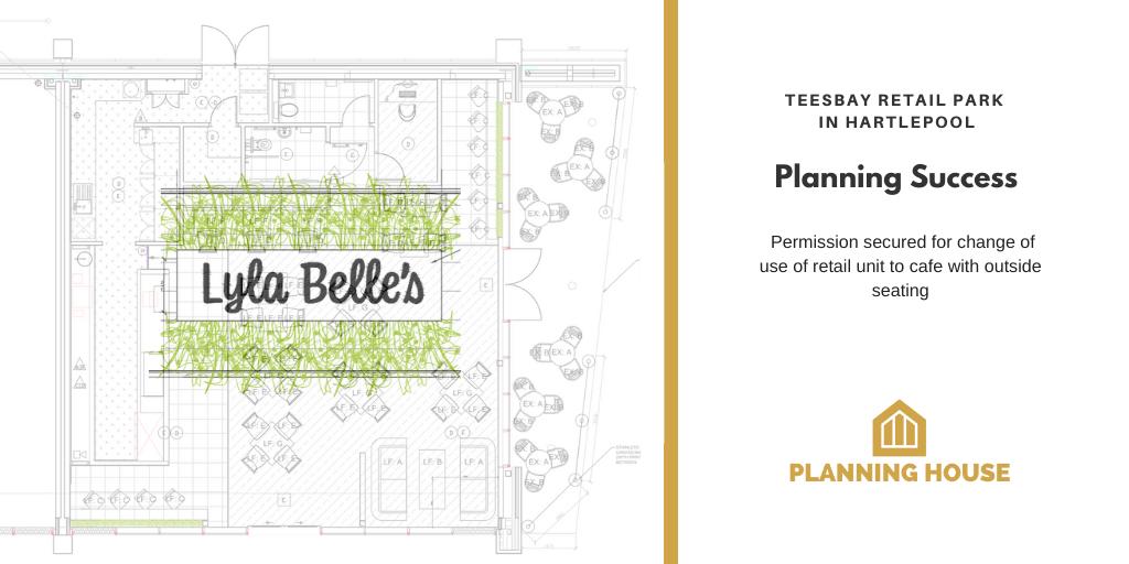 Retail to Café Planning Success