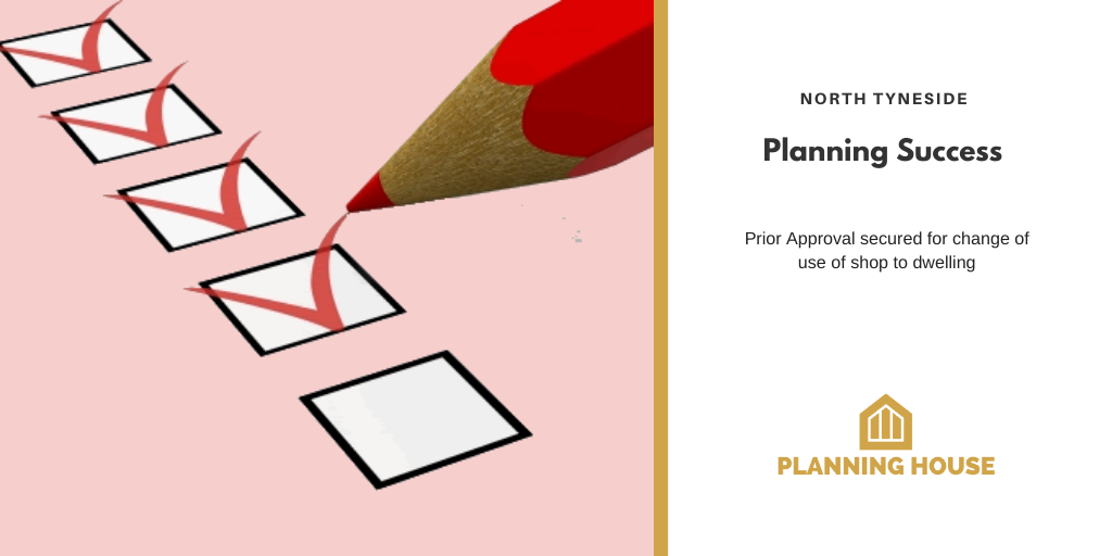 Planning Success – Prior Notification change of use to residential
