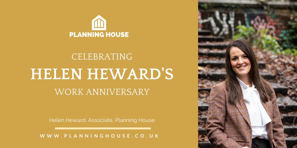 Helen's 2nd Work Anniversary!