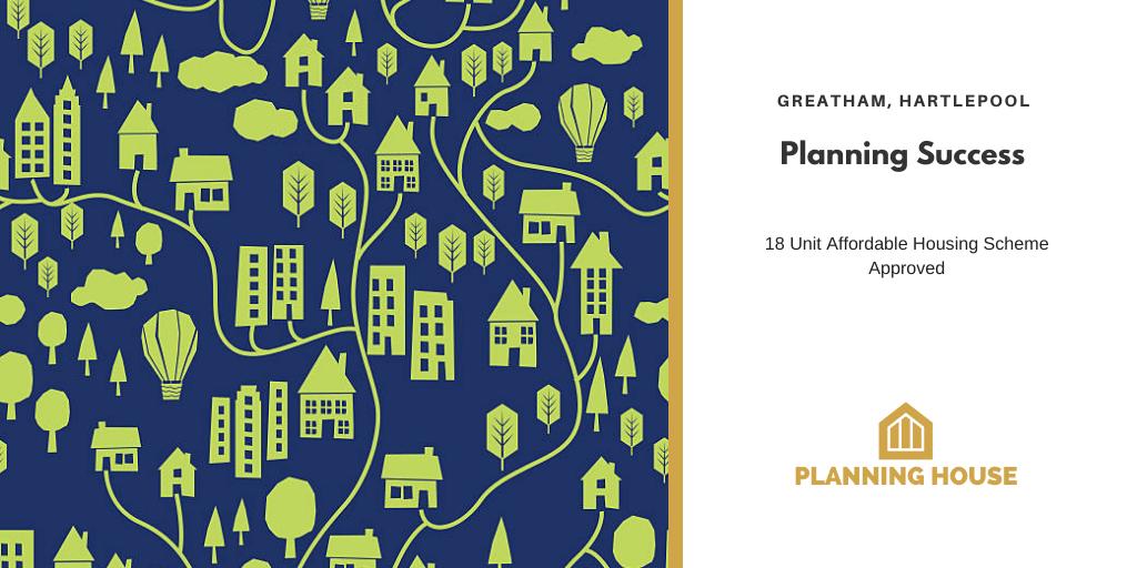 Planning Success – Council Housing, Hartlepool