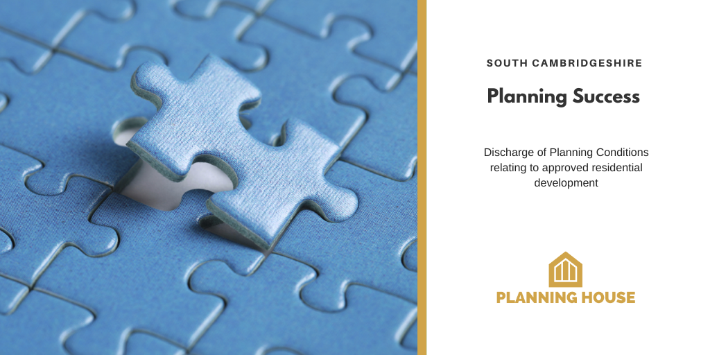 Planning Success –  South Cambridge, Planning Conditions