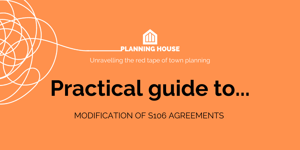Practical Guide modification of s106