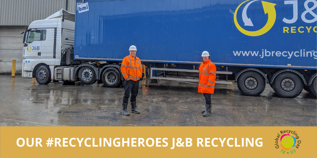 Global Recycling Day 2021: Celebrating our Recycling Heroes, J&B Recycling