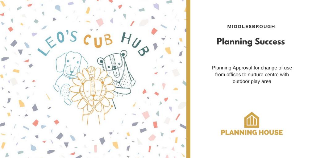 Planning Success – Charity Nurture Centre, Middlesbrough