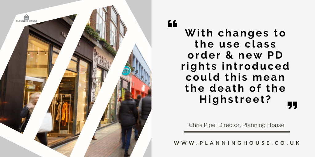 New Use Class E – A ray of Hope for Britain's Highstreets?
