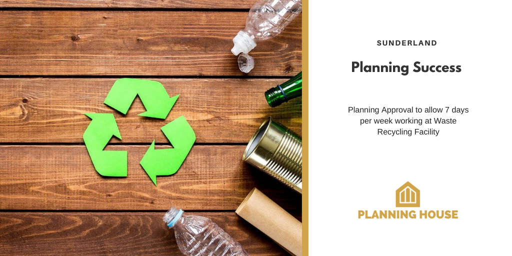 Planning Success – Sunderland Recycling Facility