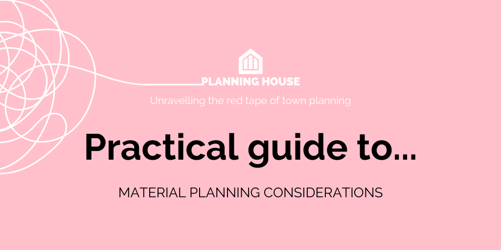 A Practical Guide to Material Planning Considerations