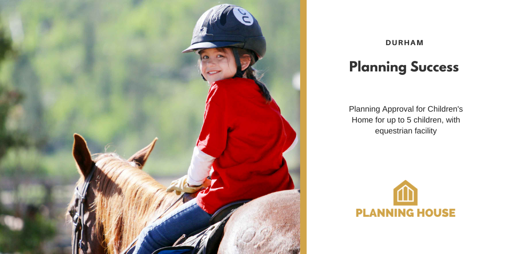 Planning Success – Children's Home with Equestrian Facility