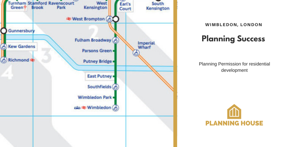 Planning Success – Residential Development, Wimbledon